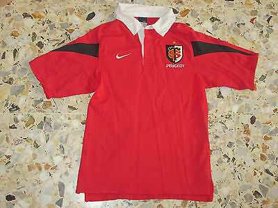 maillot shirt  ancien rugby STADE TOULOUSAIN TOULOUSE  NIKE