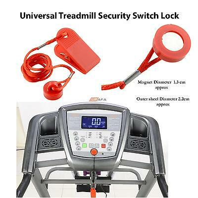 Universal Treadmill Running Machine Safety Safe Key Magnetic Security Switch Loc