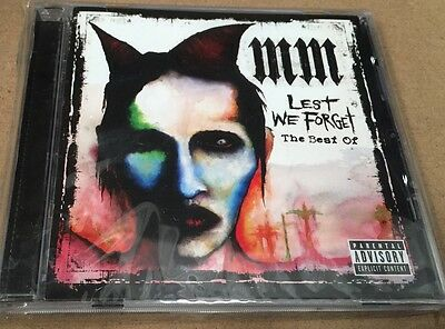 OFFERTA LIMITATA - Marilyn Manson: Lest We Forget - The Best Of MM - CD - SEALED