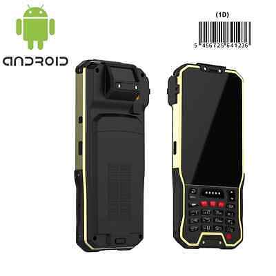 Rugged handheld barcode scanner 1D laser with wifi bluetooth 3g GPS Android 4.4