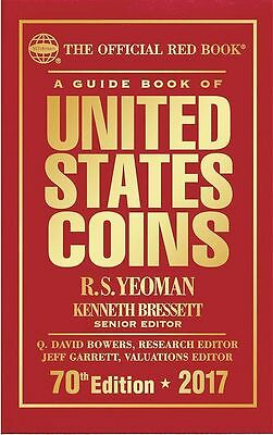 New The Official Red Book: A Guide Book of United States Coins 2017 Hardcover