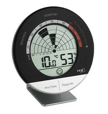 mold-radar Thermo-Hygrometer TFA 30.5032 Air Conditioner Control Room Climate