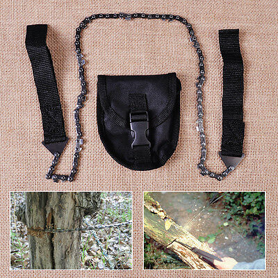 Portable Hand Chainsaw Self Help Outdoor Sport Fret Saw Survival Emergency Tools