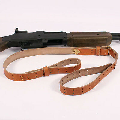 US WW2 Leather Sling for the BAR. B.A.R. Reproduction AG009