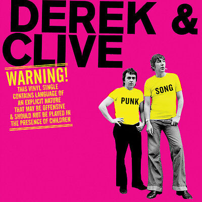 """Derek & Clive - Punk Song 7"""" Vinyl - Record Store Day RSD 2016 - Brand New"""