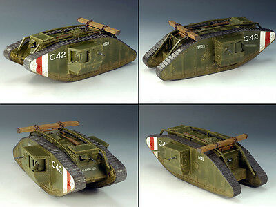 King and (&) Country FW049 - British Mark. IV Heavy Tank - Retired
