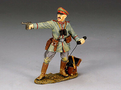 King and (&) Country FW050 - Officer with Pistol & Field Telephone - Retired