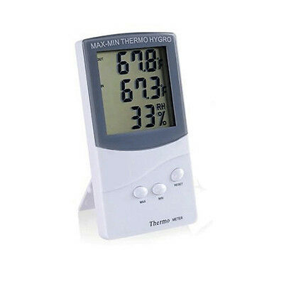 New Indoor Outdoor Thermometer Digital LCD Hygrometer Temperature Humidity Meter
