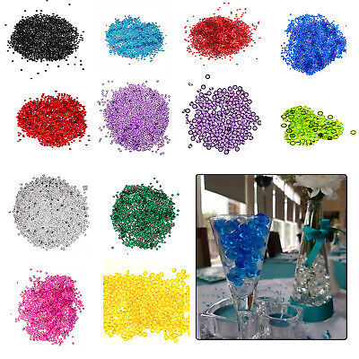 4000 Table Scatter Crystals Diamond Acrylic Confetti Events Wedding Decoration