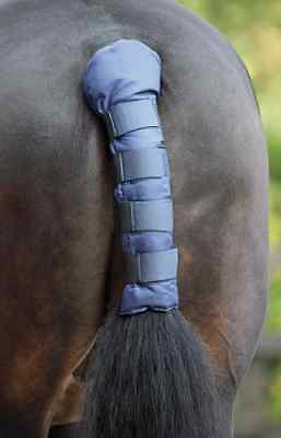 Shires Padded Tail Guard Travelling Protectioin - Navy
