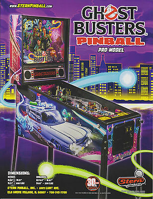2016 Stern Ghost Busters Pinball Flyer