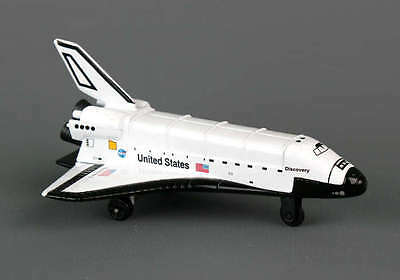 """Daron Runway 4.5"""" diecast model NASA Space Shuttle Discovery D32"""