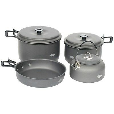 Wychwood NEW 6 Piece Pan And Kettle Set X9020