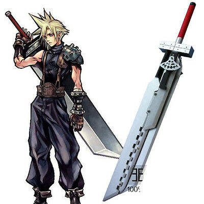 Final Fantasy 7AC Cloud Strife Broadsword Weapon Sword Disassembly Cosplay Prop