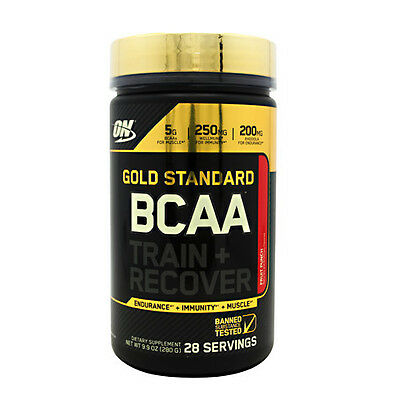 Optimum Nutrition Gold Standard Bcaa 28 Servings Discounted Recover Intraworkout