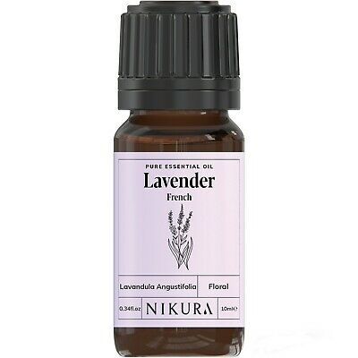 Lavender (French) Essential Oil Pure 10ml, 50ml, 100ml, 500ml, 1 Litre Nikura