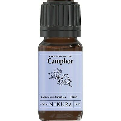 10ml CAMPHOR ESSENTIAL OIL - 100% Pure and Natural (Aromatherapy)