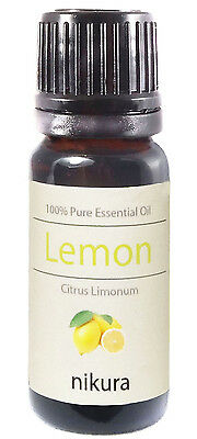 10ml LEMON ESSENTIAL OIL - 100% Pure and Natural (Aromatherapy)