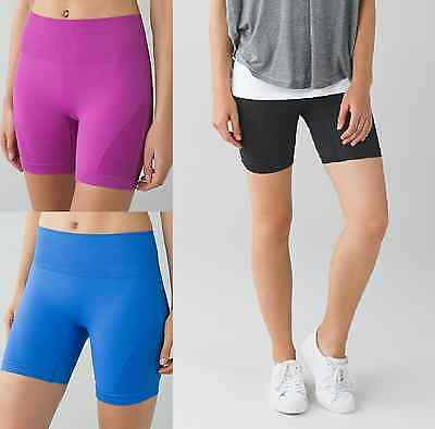$58 Lululemon Sculpt Short Gym Yoga Running All-Sport Hug Sensation 6 8 10 12