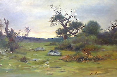 Painting Picture um 1900 signed