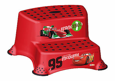 OKT Kids Step stool two stage Disney Cars
