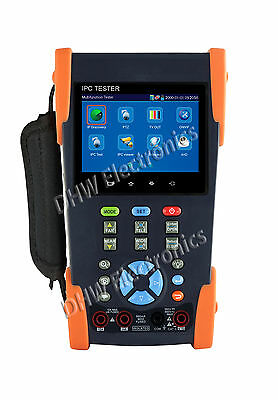 "IPC-3500MOA 3.5"" Onvif IPC /Analogue / AHD Tester Multimeter+Optical Power Meter"