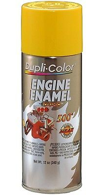 Duplicolor DE1642 Daytona Yellow Motor Engine Spray Paint Aerosol 12oz.