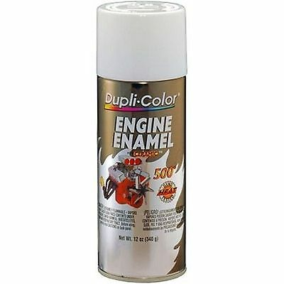 Duplicolor DE1602 Universal White Motor Engine Spray Paint Aerosol 12oz.