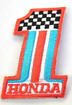 HONDA MOTOR RACING NO.1 S2000 Embroidered Sew Iron On Cloth Patch Badge APPLIQUE