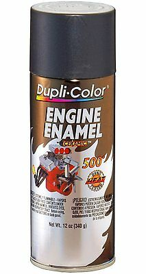 Duplicolor DE1651 Cast Coat Iron Motor Engine Spray Paint Aerosol 12oz.
