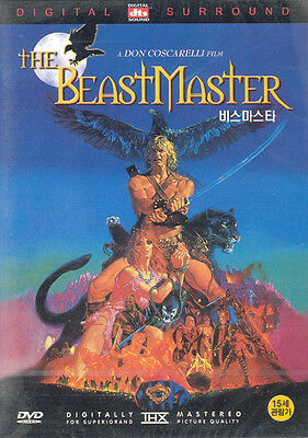 The Beastmaster,1985 (DVD,All,New) Don Coscarelli, Marc Singer, Tanya Roberts