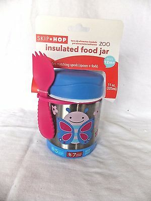 Skip Hop Zoo Insulated Food Jar Butterfly 252381 New