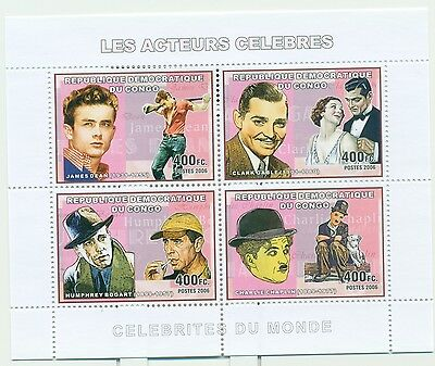 ACTORS - CONGO 2006 set perforated