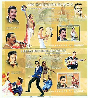 ROCK STARS - CONGO 2006 blocks  imperforated