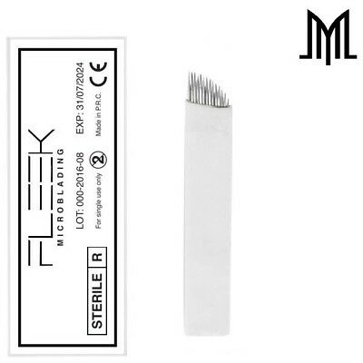 FLEXIBLE Microblading Needles - SPMU Permanent Makeup Manual Eyebrow Blade - CF