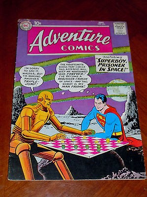 ADVENTURE COMICS #276 (1959) VG-F (5.0) cond Robinson Crusoe in Space SUPERBOY
