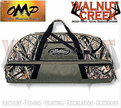 """OMP Mathews Solocam 41"""" Olive and LOST Camo Soft Bow Case 60892"""