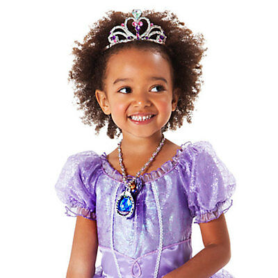 Disney Sofia The First Magical Light-Up Colour Changing Amulet Pendant Necklace