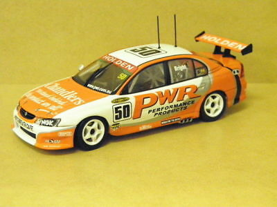 1:43 HOLDEN VY COMMODORE PWR (J.BRIGHT) 2004 #50 Auto Art 60466
