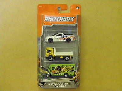 1:64 3 CAR PACK CONTAINING COMMODORE UTE Matchbox C3713
