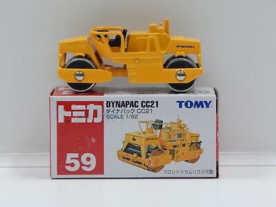 1:62 Dynapac CC21 (Yellow) - Made in China Tomica 59