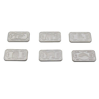 10 x 1 gram .999 solid Silver Endangered Animal Set with Capsules. MUST HAVE SET