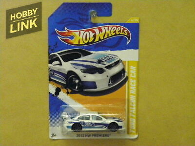 1:64 FORD FALCON RACE CAR (WHITE WITH BLUE STRIPES) Hot Wheels V5569