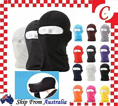 Full Hat Face Mask Bike Motorcycle Biker Head Neck Balaclava Sun Protection