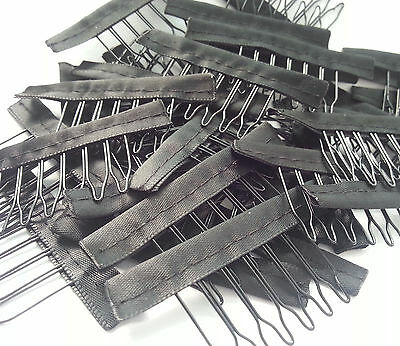 New10/20/30/50 Pcs  6 Teeth Wig Combs Wig Clips Wigs Accessories Insert comb