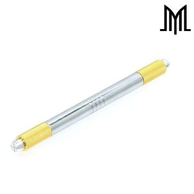 Double-Ended Microblading Pen - Manual Microblade Needle Holder - Lightweight