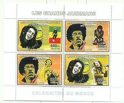 JAZZ PLAYERS - CONGO 2006 set perforated