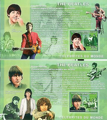 THE BEATLES - CONGO 2006 blocks imperforated