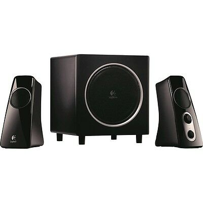 Logitech Z523 2.1 Speaker System Black 40 Watt With Subwoofer GENUINE NEW