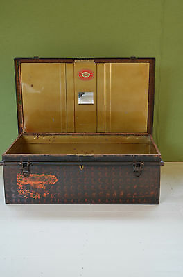 Jones Brothers The Owomeji Uniform Case Trunk Vintage Military Metal Travel 1892